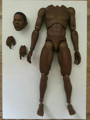 Hot Toys Truetype TTM15 Body African Obama Corpo