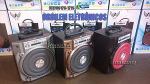 Ltomex Caixa De Som 15W A Bluetooth Sd,Usb E Rádio Fm