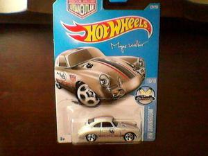 Miniatura hot wheels porche 356A outlaw. novo no blister