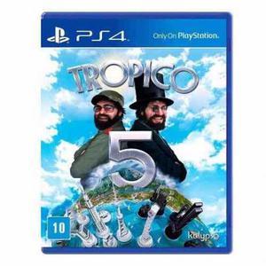 Tropico 5 Jogo Para Playstation 4 Ps4 Mídia Física Lacrado
