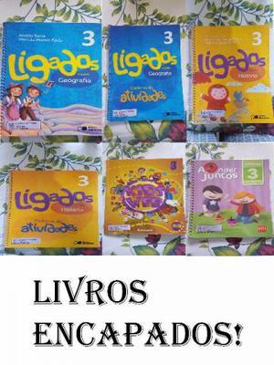 Alguns livros do 3° ano (Fundamental) - Colégio Tiradentes
