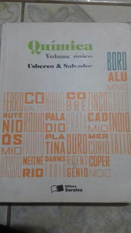 Livro de química volume único