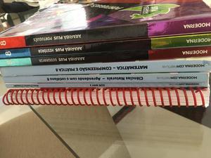 Livros Editora Moderna 7,8,9 Ano