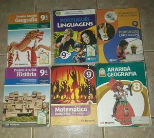 Livros do 8° ao 9° Ano