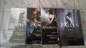 Livros fallen e diários do vampiro