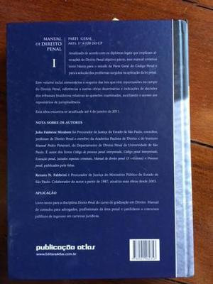 Manual de Direito Penal - Julio Fabbrini Mirabete (NOVO)
