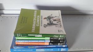 Vende-se, conjunto de livros para Medicina Veterinária!