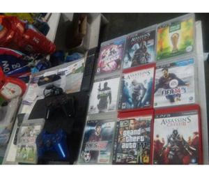 ZAP  E FIXO  playstation 3 com 13 jogos se