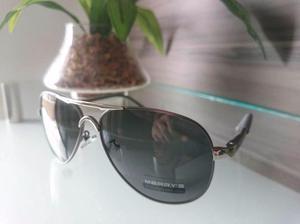Óculos de sol masculino aviador - Merry's - Polarizado