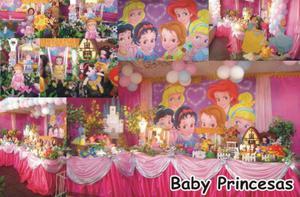 Pacote de Mesas Temáticas das Princesas Disney