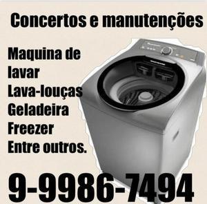 Assistência Técnica de máquinas de lavar roupa lava