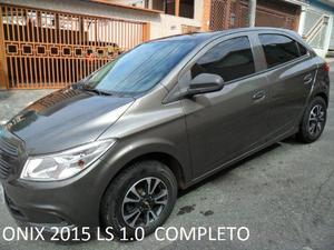 Gm - Chevrolet Onix 15 Ls Cinza Completissimo -
