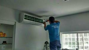 Instalação de Ar Condicionado! Limpeza, Recarga de Gás e