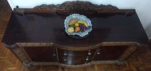 Balcão / Aparador / Buffet De Madeira Antigo Século XIX