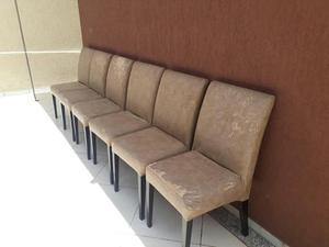 Jogo com 6 cadeiras por 400 reais lider seminovas