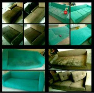 Lavagem à seco de sofás em domicílio