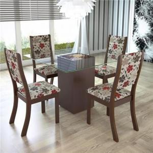Mesa com 4 Cadeiras Adria # Receba antes do Natal # 21