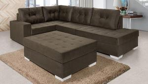 Sofa de canto Coliseu c/ puff