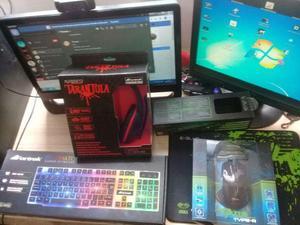Teclado, Mouse,MousePad e Headset Gamers