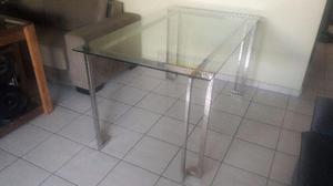 Mesa de Jantar em Aço Inox Kaza Inox