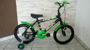 Bicicleta infantil aro 16 / ben 10 / pouco uso