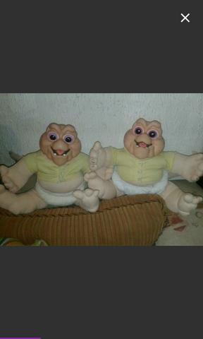 Boneco baby família dinossauro
