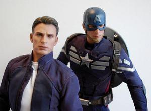 Capitão America Hot toys