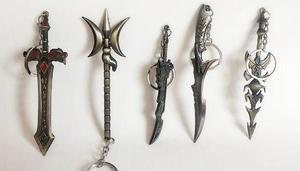 Chaveiros de espadas machoado enviamos para todo brasil