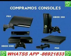 Compramos xbox 360 ps4 one ps3 play 2(urgente)