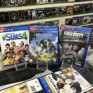 Lançamentos de jogos para PlayStation 4