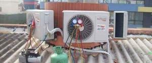 OFERTA Instalação De Ar Condicionado com garantia e nota.