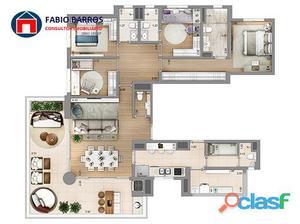 Apartamento de 4 dormitórios 163m2 na Vila Mariana