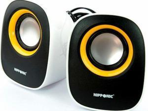 Caixa de Som Acústica USB Nipponic CR616