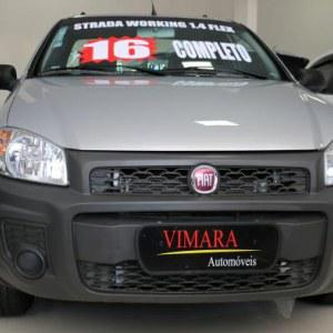 Fiat Strada Adv.1.8 16V Dualogic Flex CD 2013