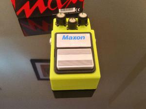 Pedal de Guitarra Maxon SD9 Sonic Distortion (Veja