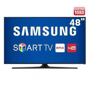 """Samsung Smart Tv Led 48"""", Slim, Full HD Muito Conservada"""