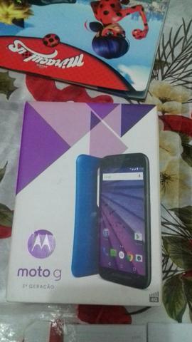 Celular Moto G 3 geração. novo na caixa com nota fiscal
