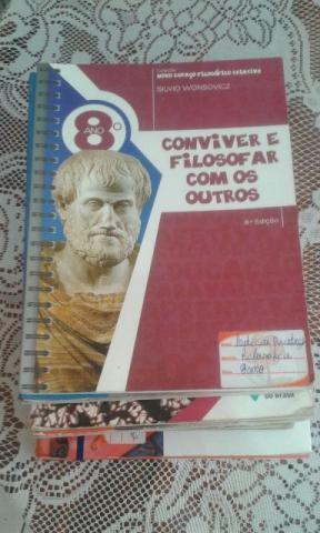 Coleção de Lvros do 8° ANO da Editora Brasil