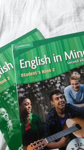 Combo livro de ingles (english in mind students book 2)