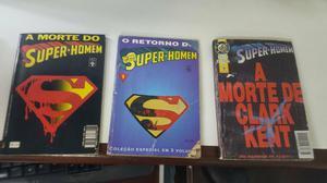Gibi Á morte do SUPER HOMEM Á MORTE DE CLARK KENT E