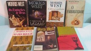 Literatura Estrangeira - Morris West (Lote C/ 07 Livros)