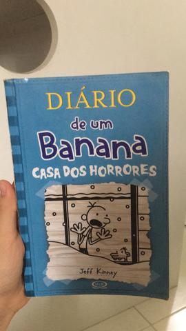 Livro Diário de um Banana 6 - Casa dos Horrores