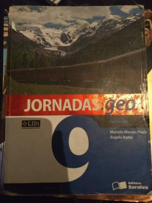 Livro Jornaras Geo 9° ano + LIDI 1° edição