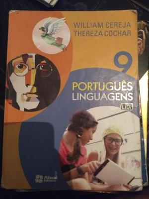 Livro Português Linguagens 9° ano 8° edição reformulada