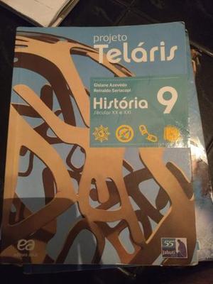Livro de história Projeto teláris 9° ano sec XX e XXI 2°
