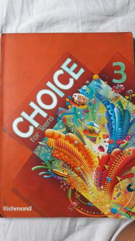 Livro de ingles (choicd for teens 3)