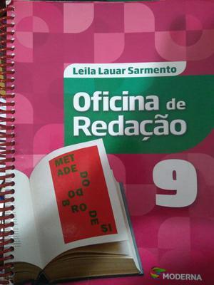 Livro didático do nono ano Oficina de redação