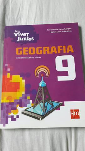 Livro novo de geografia (Para viver juntos 9 ano)