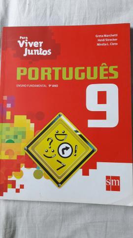 Livro novo de portugues (para viver juntos 9 ano)
