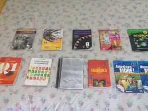 Livros 9º e 8º ano